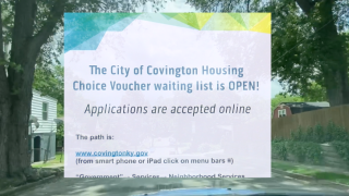 Covington is offering an incentive program to property owners in Kenton County if they utilize the Housing Choice Voucher Program