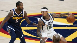 Clarkson helps Jazz to 5th straight, beat Nuggets 109-105