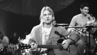 Nirvana's Kurt Cobain On 'MTV Unplugged'
