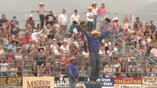 Fans, participants and volunteers happy to gather at Ennis Rodeo once again