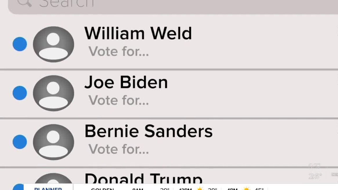 text messages from political campaigns 360