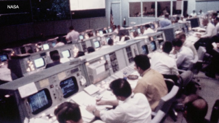 NASA restores, reopens the Apollo 11 Mission Control Center