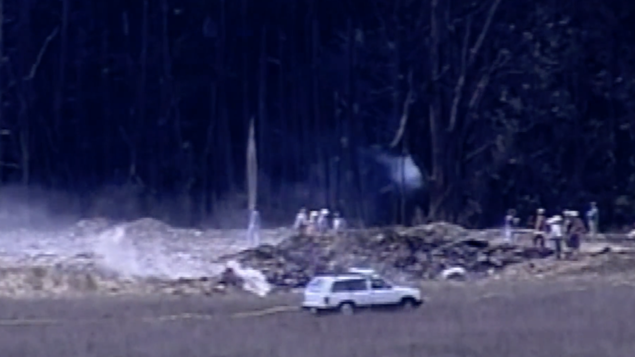 On Sep. 11, 2001, first responders arrived at the crash scene of United Airlines Flight 93, located in a field just a few miles from Shanksville, PA. There were no survivors.