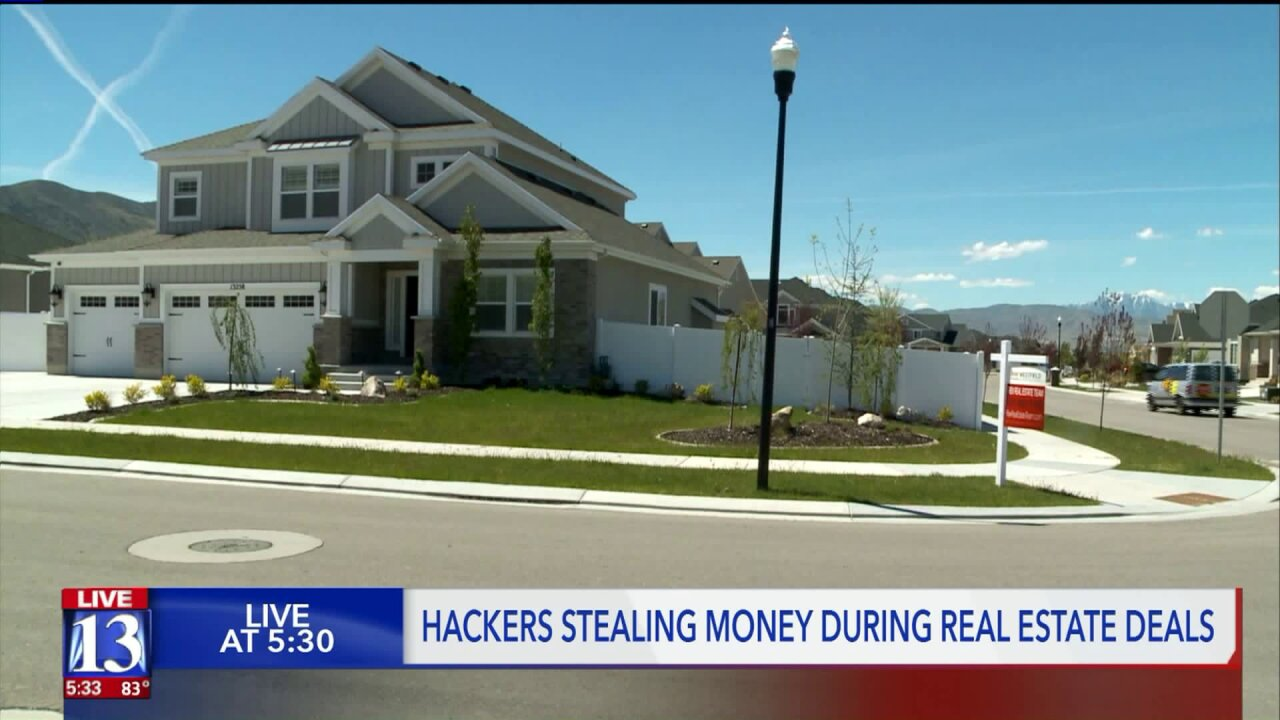 Hackers siphoning money off real estate transactions in Utah