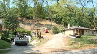 Construction Site on Wess Park Drive, North Avondale, Cincinnati.jpg
