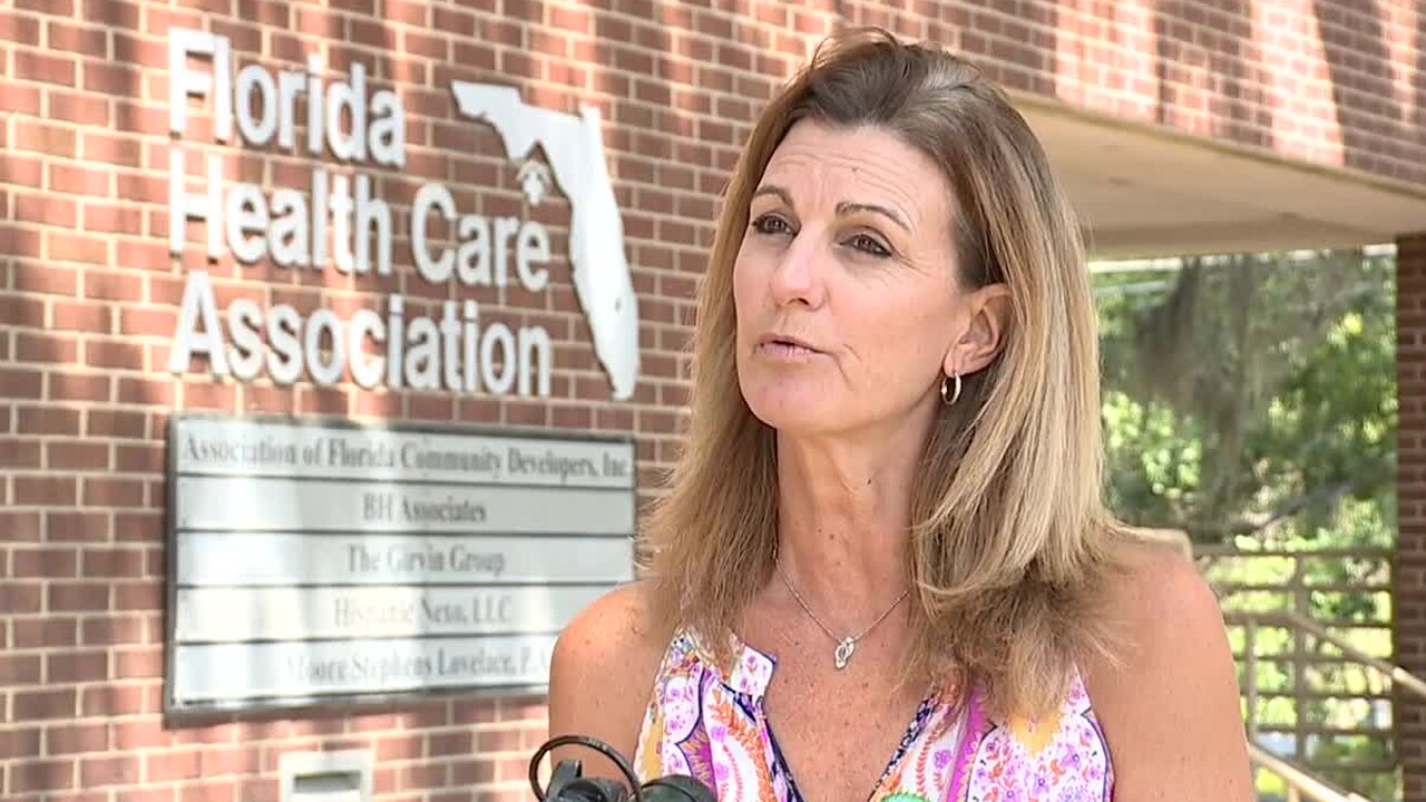Kristen Knapp, the director of communications for the Florida Health Care Association, said it's imperative that the state help with testing at long-term care facilities.