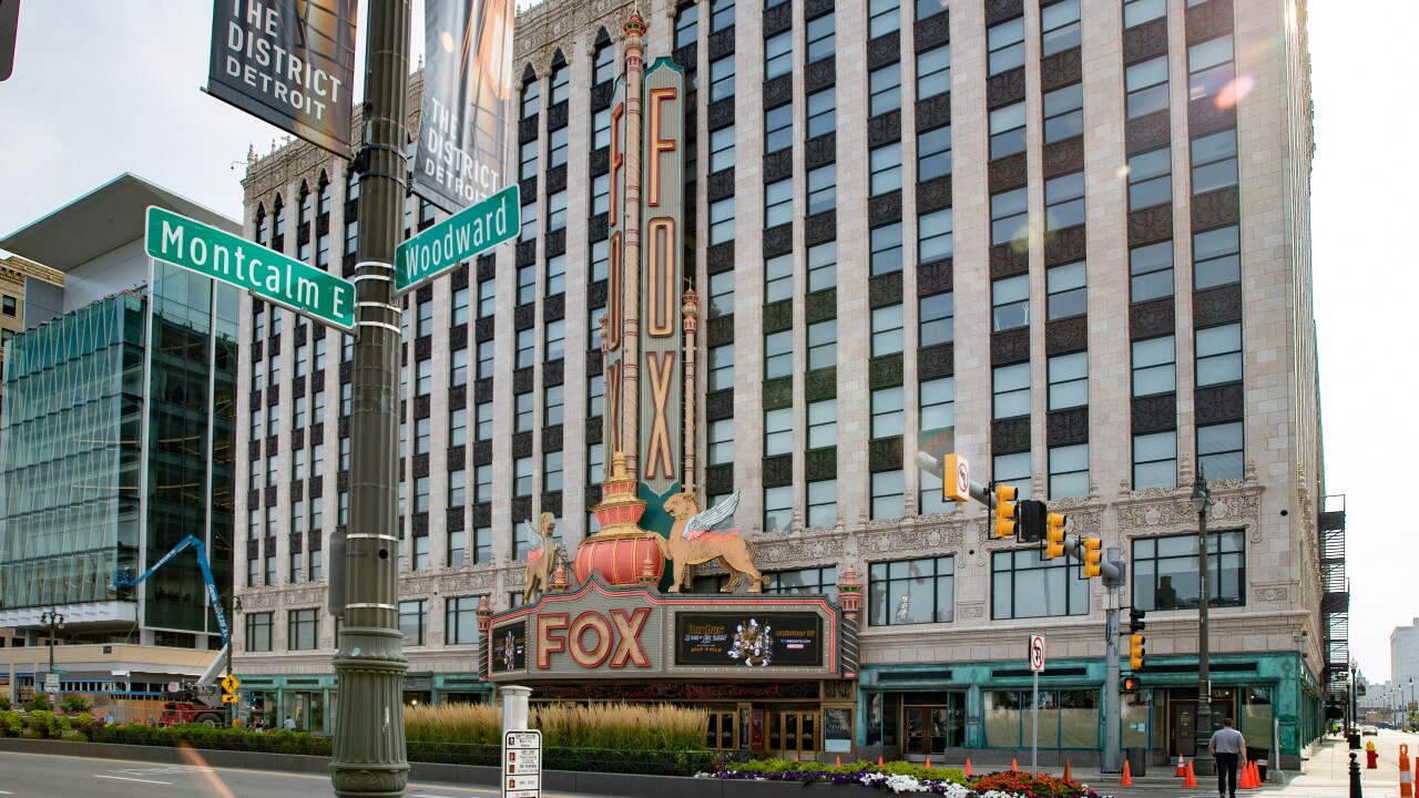 Fox Theatre Woodward and Montcalm