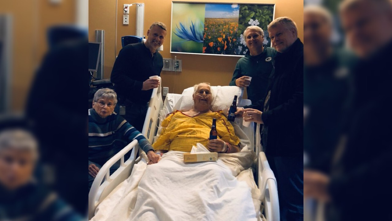 Wisconsin man's dying wish was granted when he shared one last beer with his sons