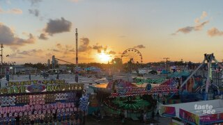 It's week two of the full-fledged South Florida Fair.  WPTV's Entertainment Reporter T.A. Walker has more from the fairgrounds, to see how these new dates were impacting crowds.