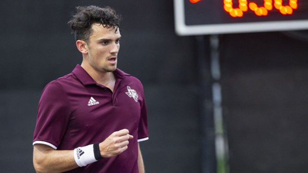 TEXAS A&M MEN'S TENNIS VACHEROT EARNS SEC POTW.jpg