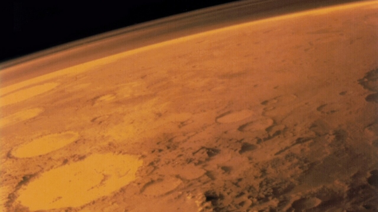 Water discovered in underground lake on Mars