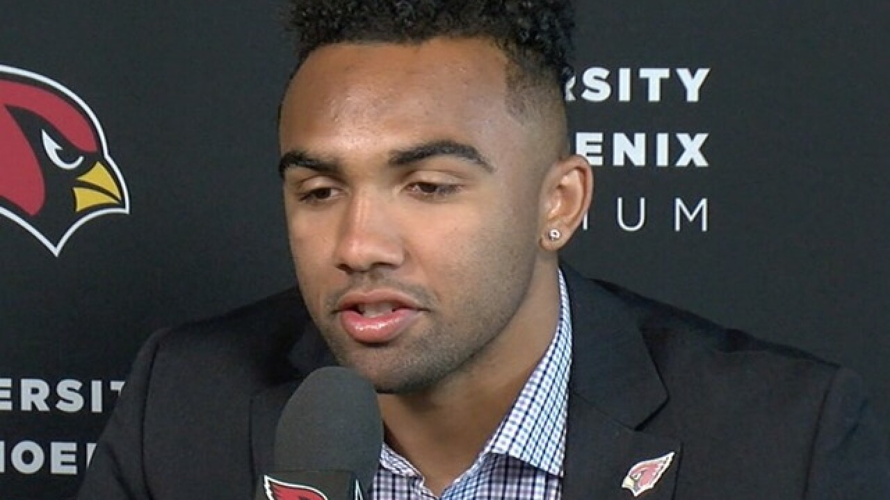 Charges against Cardinals rookie, Valley native Christian Kirk dropped