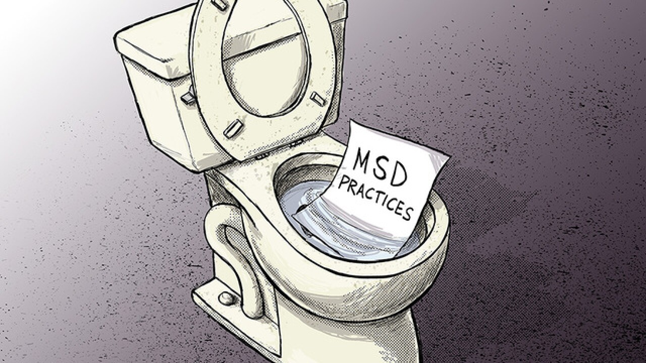 CARTOON: Something stinks at MSD