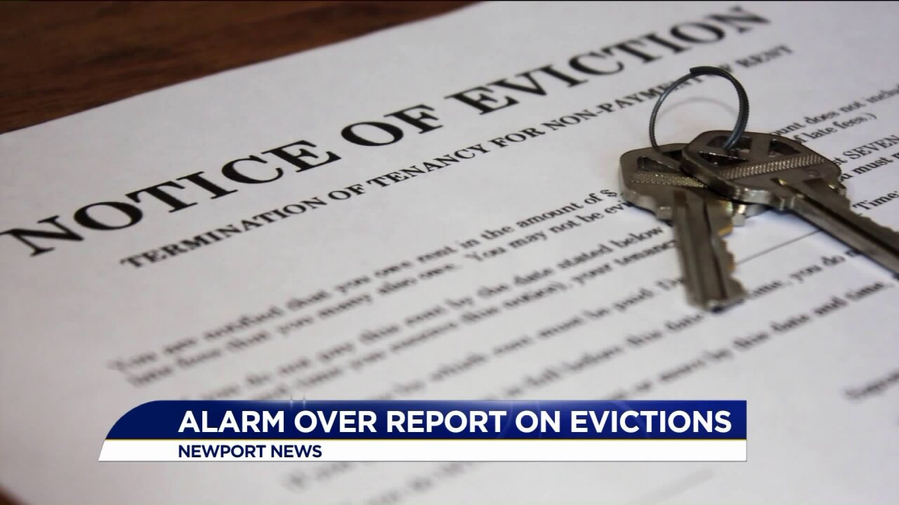 Despite questions about data, leaders say Hampton Roads eviction rate is concerning