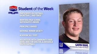 Student of the Week Gavin Rahl