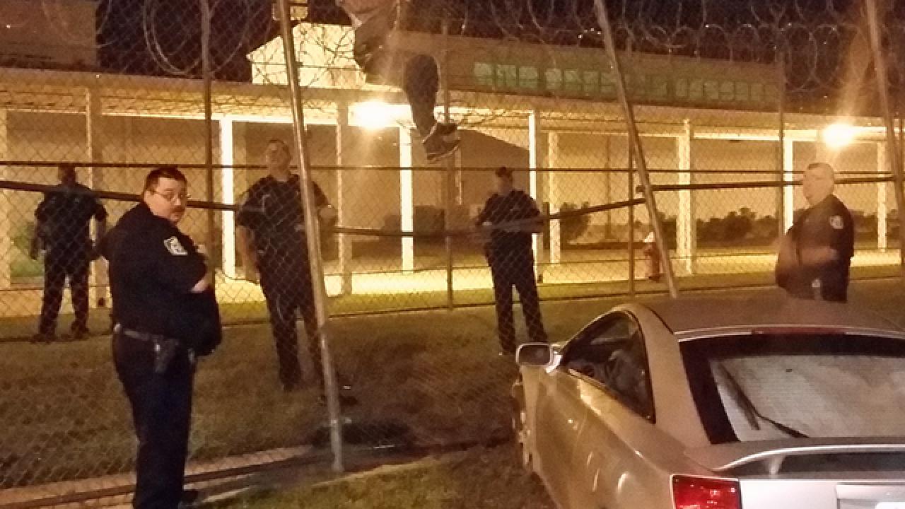 Sheriff: Man on drugs rams car into IRC Jail