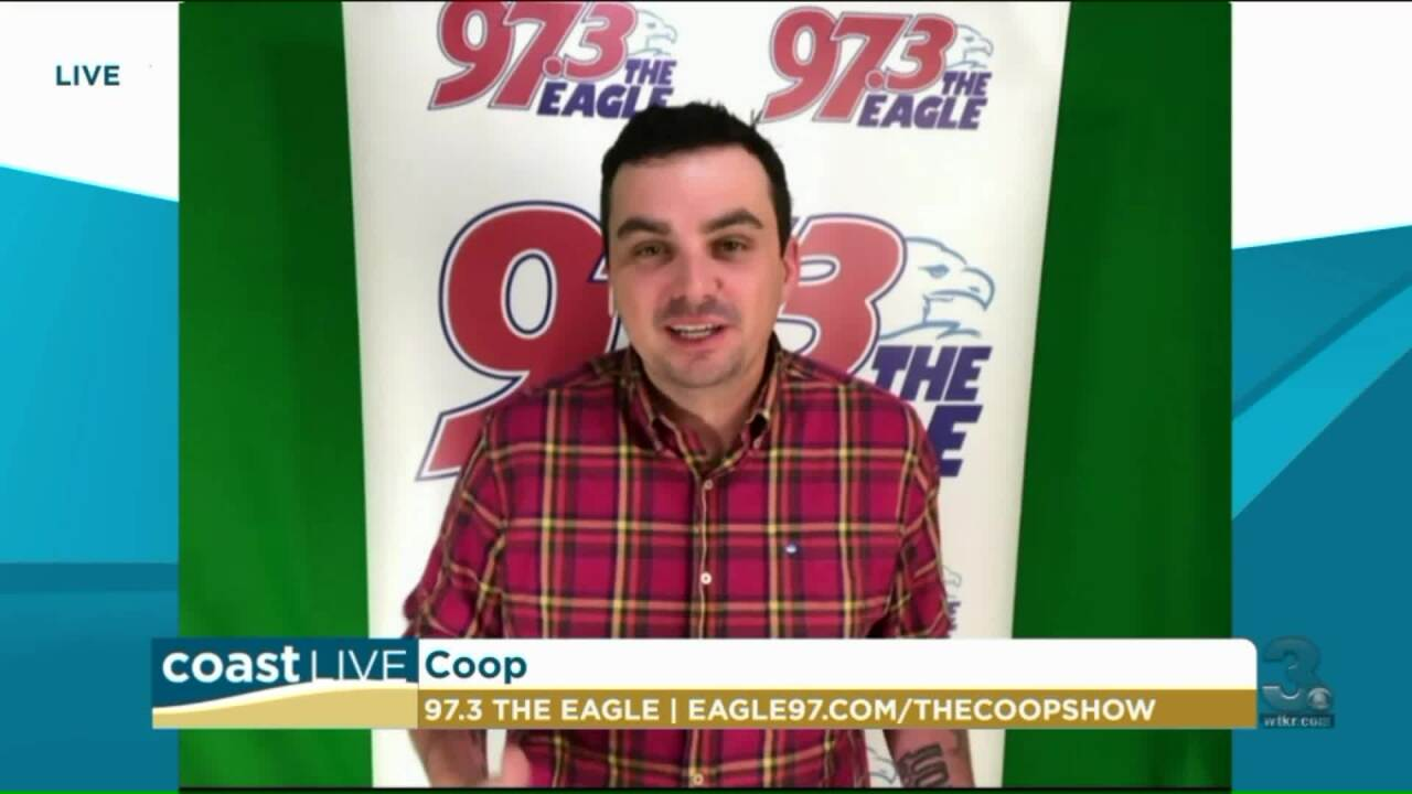 Coop Has The Scoop Live From The Eagle 97.3 FM on CoastLive
