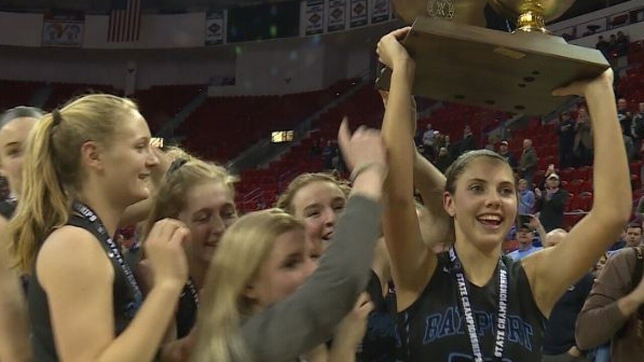 Bay Port claims first-ever girls basketball state championship