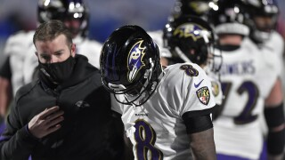 Lamar Jackson Injured