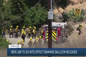 New law to ban balloon releases