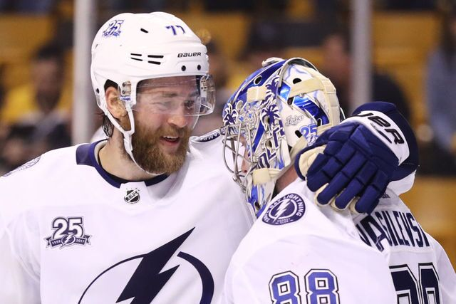 PHOTOS | Bolts beat Bruins in Game 3