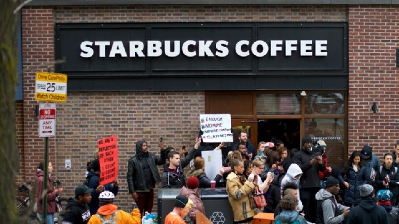 Philadelphia Police Department changes policy for trespassing calls after Starbucks incident