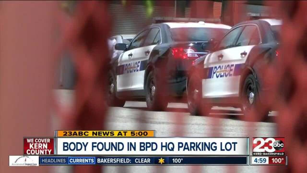 Body found inside of vehicle in BPD parking lot, suicide