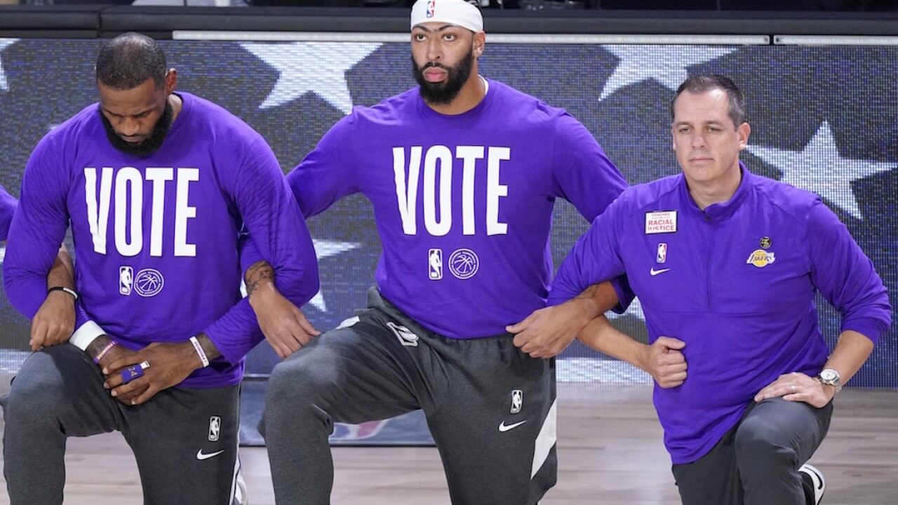 LeBron James-led's voting initiative 'More Than a Vote' recruits 10,000 poll workers
