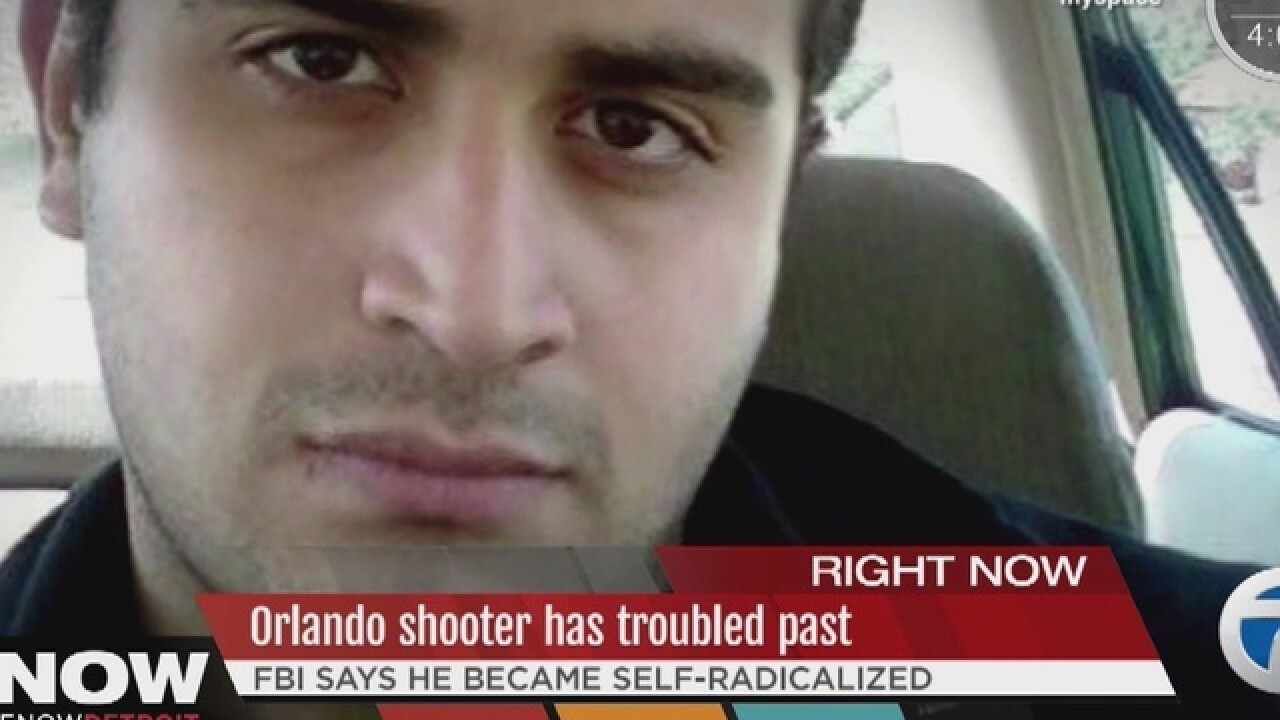 Orlando shooter believed to be self-radicalized