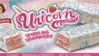 Little Debbie Is Bringing Back Strawberry 'Unicorn Cakes' With Purple Glitter On Top