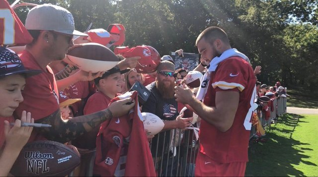 Sights from the first full day at Chiefs' 2018 training camp