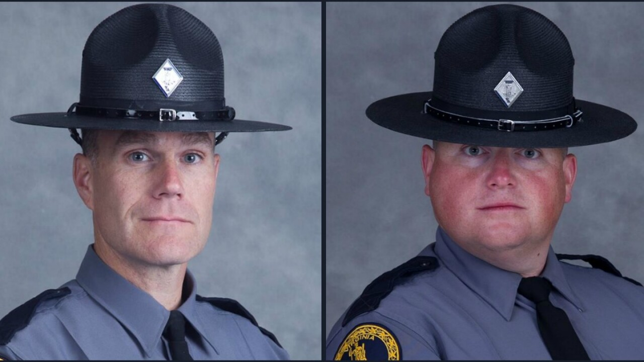 State police ID troopers killed in helicopter crash nearCharlottesville