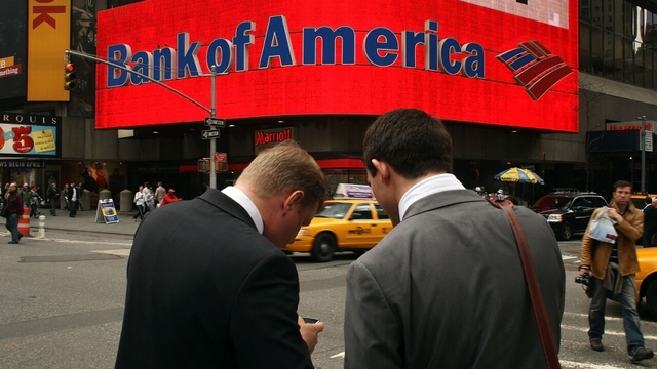 Bank of America app used more than branches