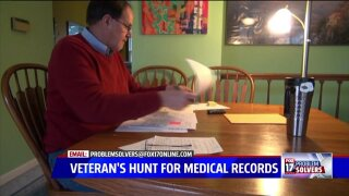 Veteran hunts for medical records from closedclinic