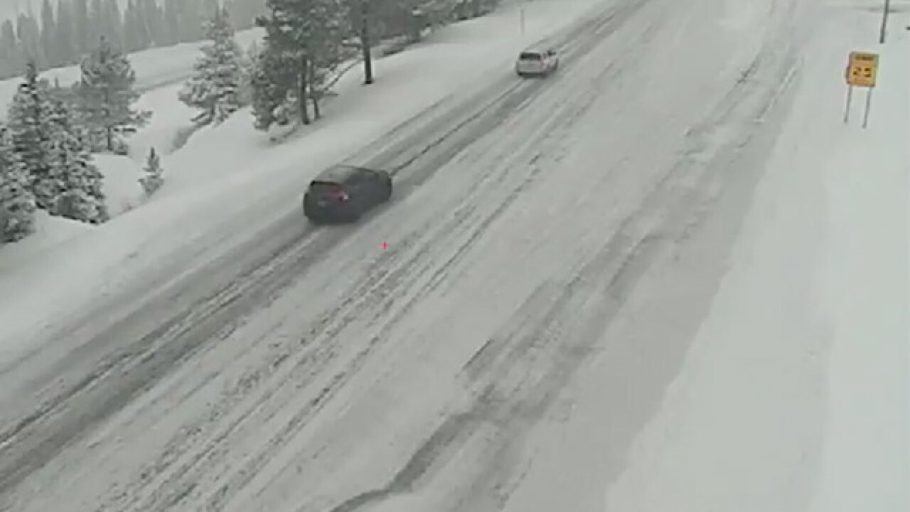 CDOT warns of widespread snow, heavy traffic Saturday along