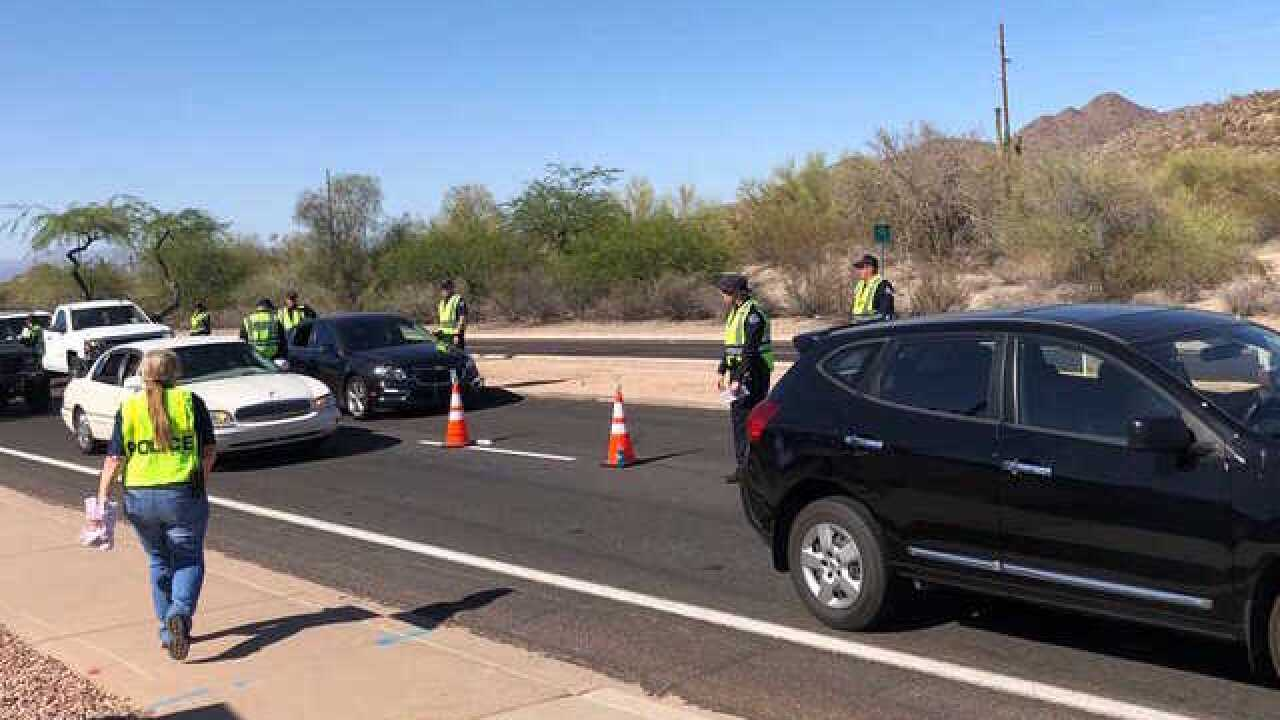 Mesa DUI checkpoint nets 29 arrests on Memorial Day