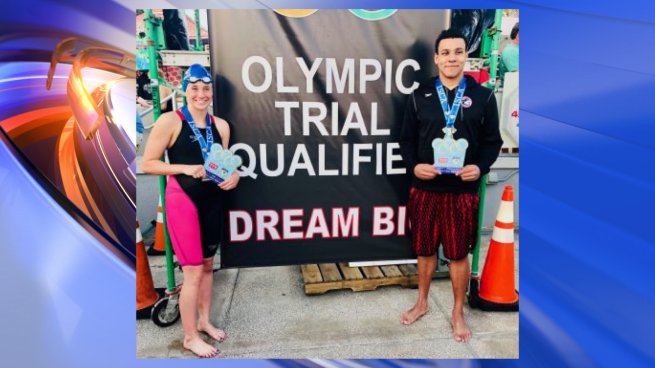 Two Virginia Beach swimmers qualify for U.S. Olympic Team Trials