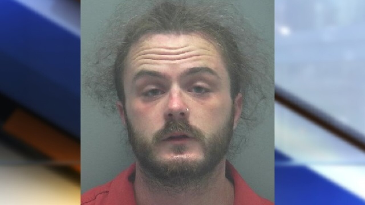 Vomiting man arrested for possessing drugs in Cape Coral