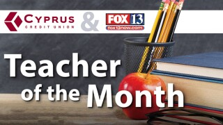 Cyprus Credit Union Teacher of the Month