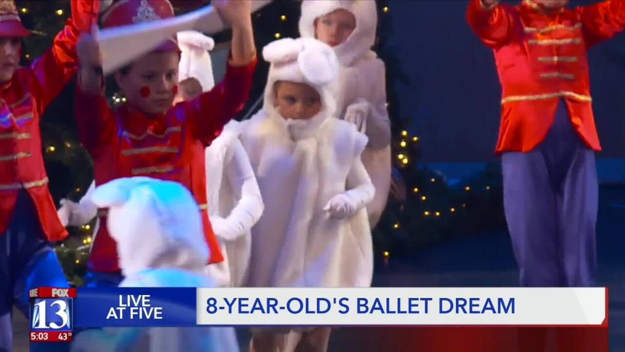 Girl with Down syndrome earns role in Nutcrackerproduction