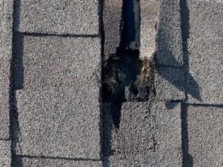 Broken Arrow home struck by lightning