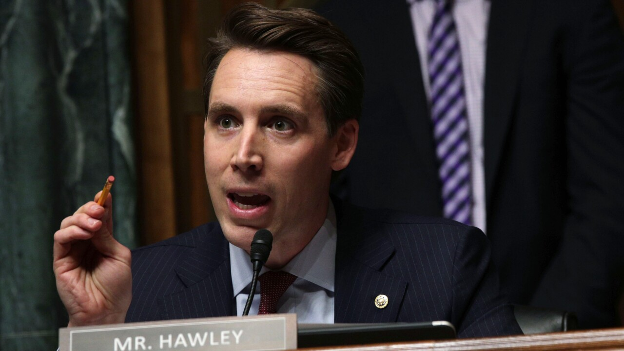 Senate Judiciary Committee Holds Hearing On Data Privacy Josh Hawley