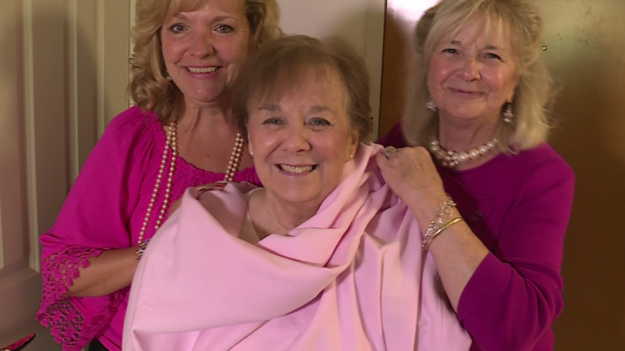 How group is giving women battling breast cancer chance to tackle their bucket list