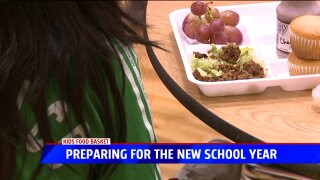 Safely Back to School: Kids' Food Basket expects need to increase with new school year
