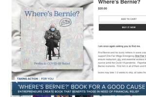 Metro Detroit entrepreneurs create 'Where's Bernie?' book for a good cause