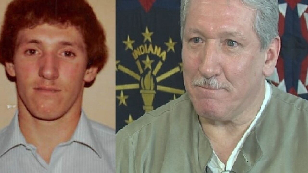 Mike Floyd in 1983 and 2018