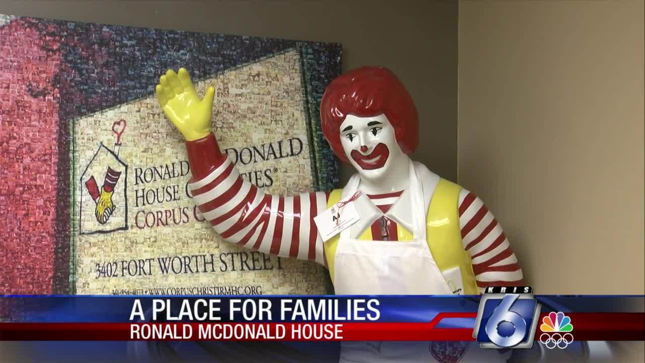 Ronald McDonald House provides a place for families