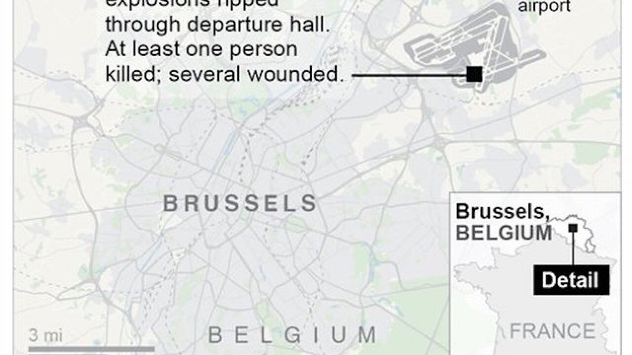 Airports increase security after Brussels attacks