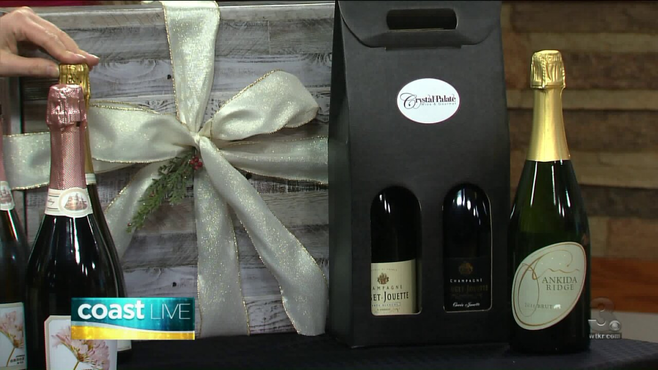 Sparkling wine to celebrate the holidays on Coast Live