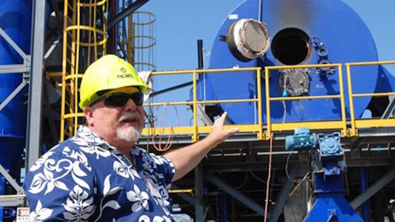 Hawaii Air Force unit getting own power grid that uses trash